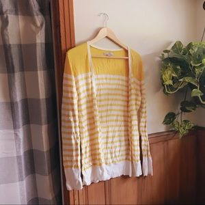 Honey Striped Cardigan